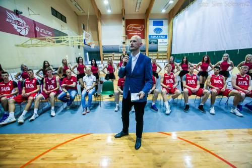Rapla korvpallimeeskonna hooaja avaüritus